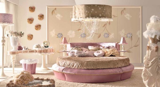 Характеристика романтического стиля спальни