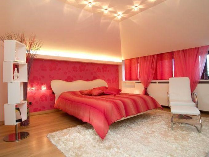 Современная романтика в спальне