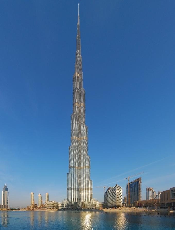 Самое высокое здание в мире фото