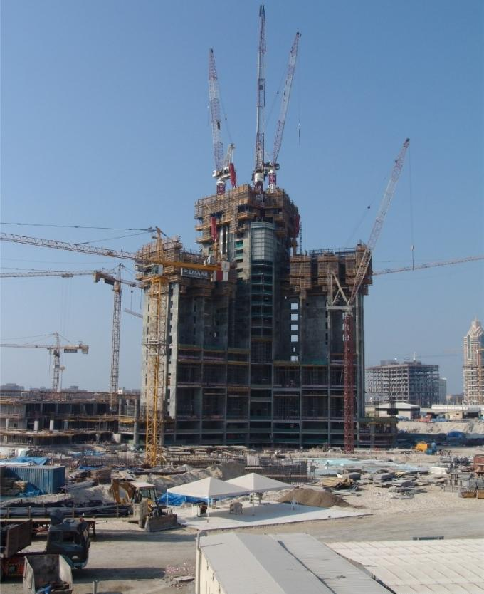 Особенности строительства Бурдж Халифа