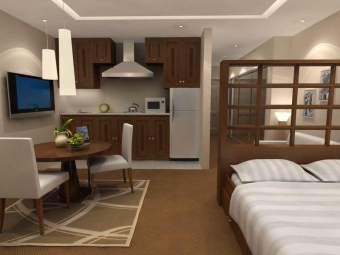 Свободная планировка однокомнатной квартиры