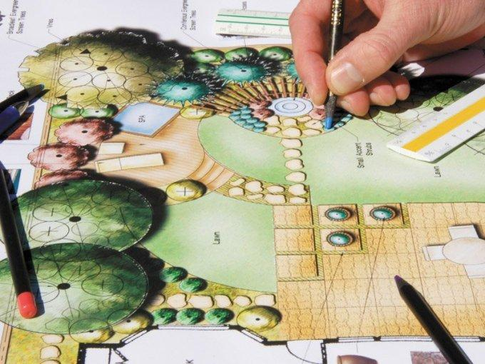 Проектирование садовых дорожек