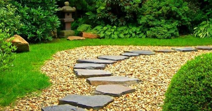 Материалы для строительства садовых дорожек