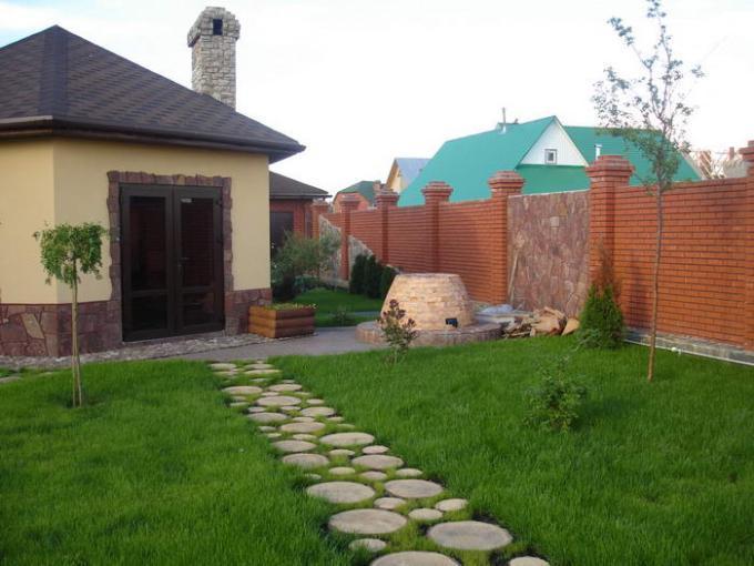 Дизайн садовых дорожек своими руками