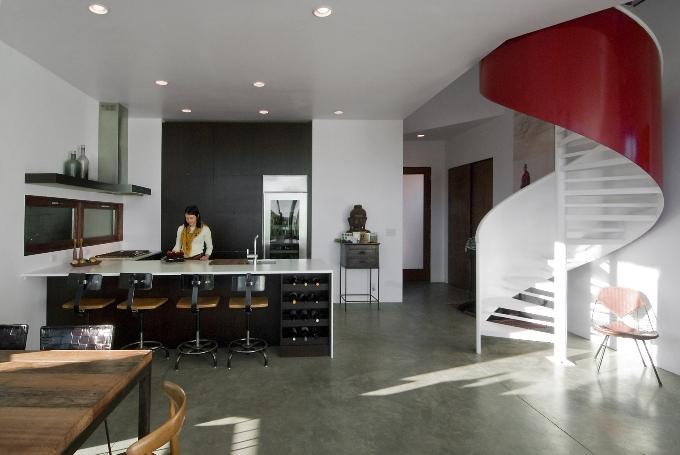 Кухня-студия для частного дома