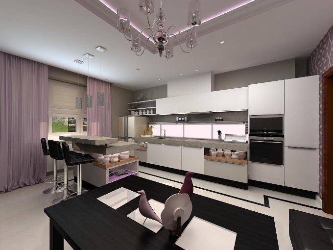 Что такое кухня-студия?
