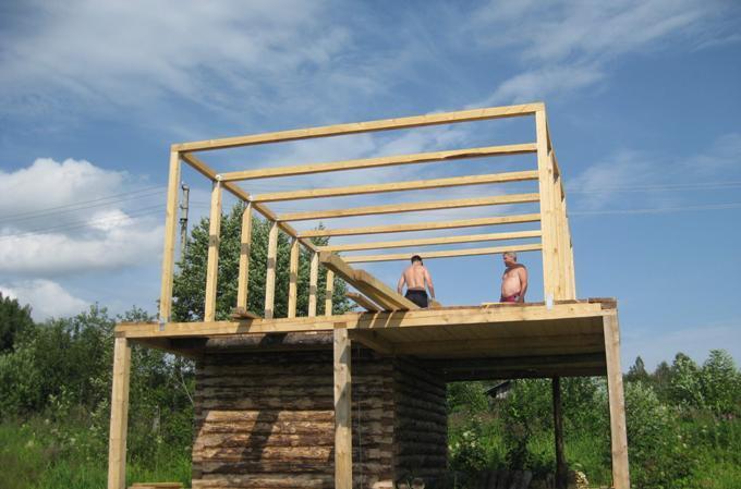 Как строится крыша дома
