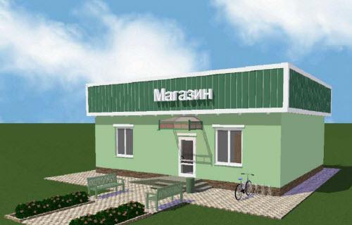 Проект магазина продовольственных товаров