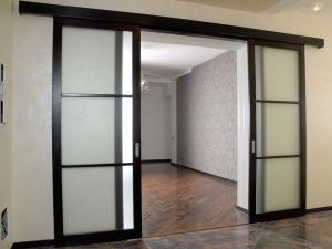 Места установки раздвижных дверей