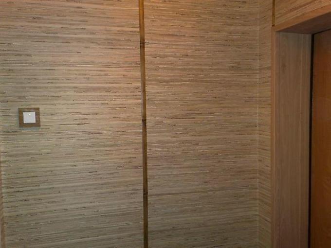 Интерьер бамбуковыми обоями фото