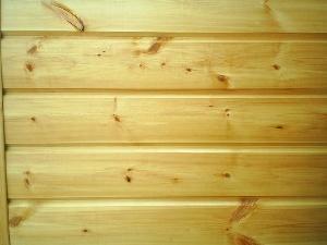 Деревянная имитация бруса