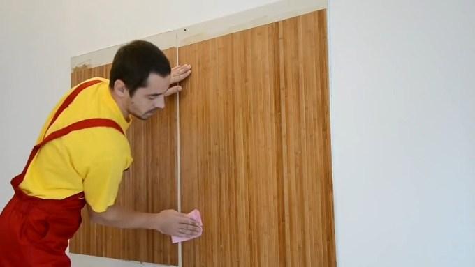 Наклеивание обоев на стену своими руками