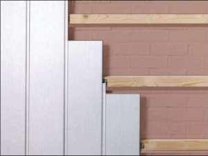 Пластиковые стеновые панели на основе ПВХ
