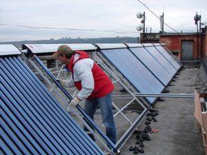 Как монтировать солнечные коллекторы