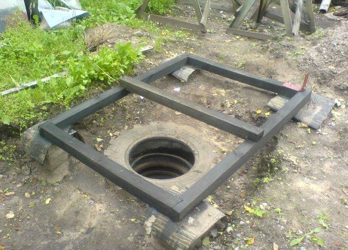 Устройство фундамента под туалет