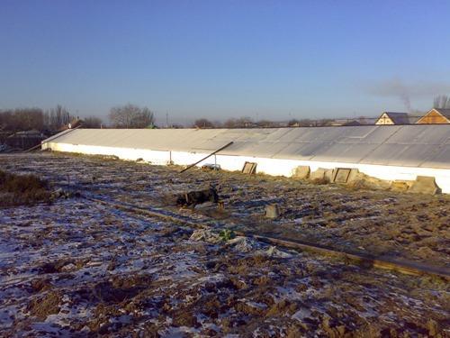 Строительство теплицы-термос