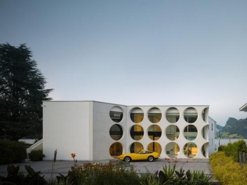 """Проект """"Дом O"""" в Швейцарии"""