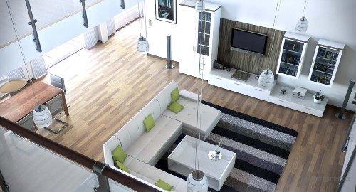 Современная гостиная - второй свет