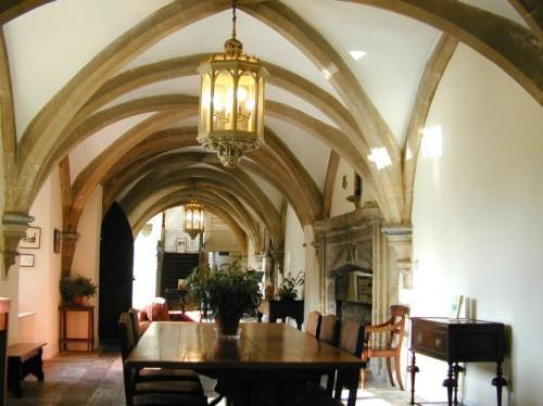 Старинный интерьер замка