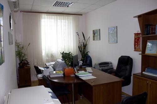 Вид офиса при входе