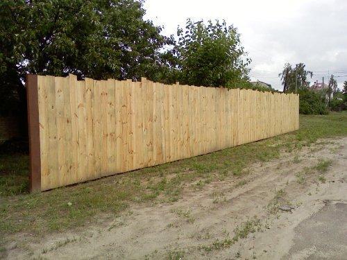 Забор с дерева