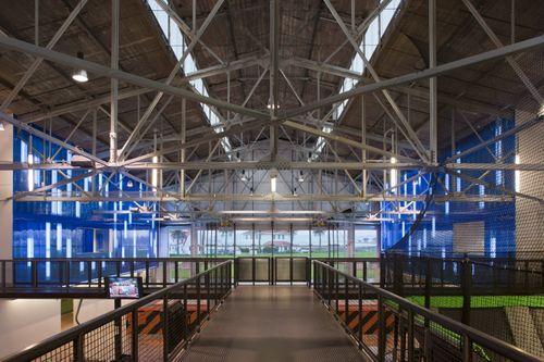 Фермы в спортивном комплексе