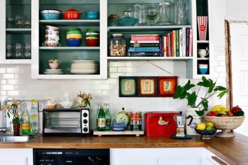 Дом дизайнера интерьеров. Оформление кухни