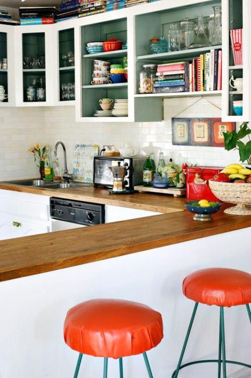 Дом дизайнера интерьеров. Кухня