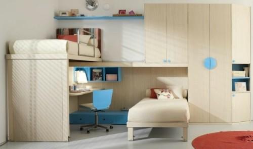 Интерьер детской спальни для разнополых детей