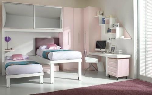 Интерьер детской спальни для девочек