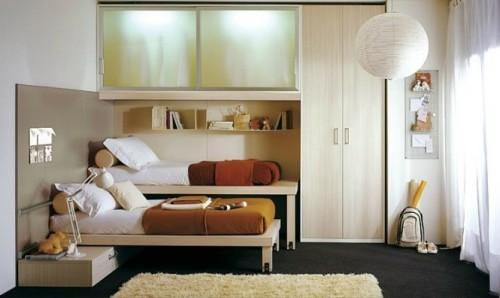 Интерьер детской спальни для двоих детей