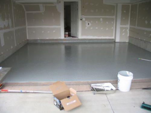 Как сделать пол в гараже?