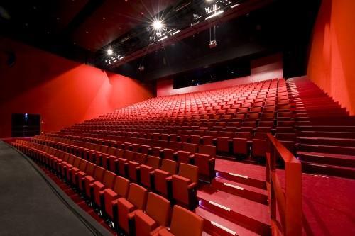Красный зал. Культурный центр в Ипре