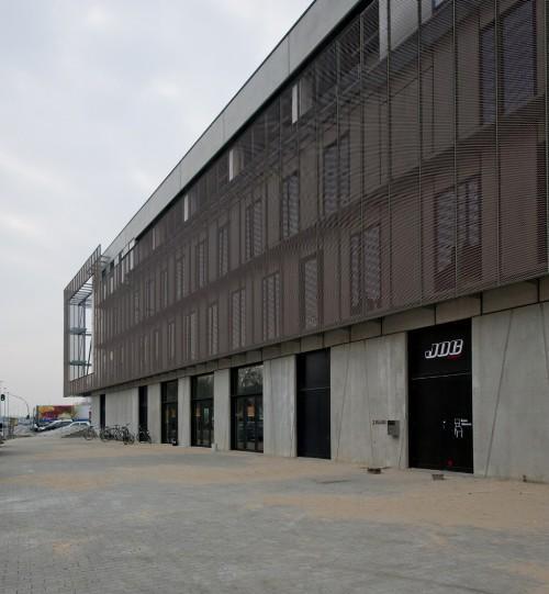 Защита фасада. Культурный центр в Ипре