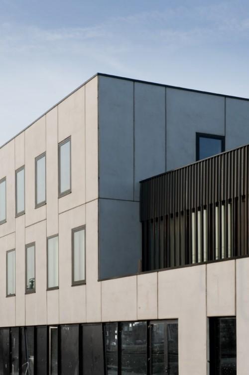 Фасад здания. Культурный центр в Ипре