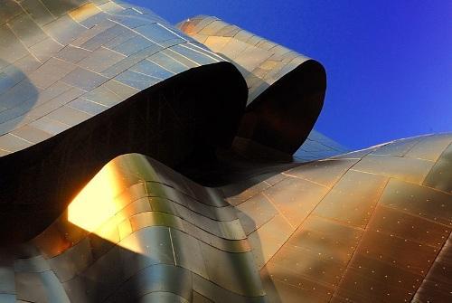 Музей научной фантастики в Сиэтле, США. Космические формы