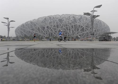Национальный стадион в Пекине. Фото