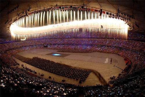 Национальный стадион в Пекине. Интерьер