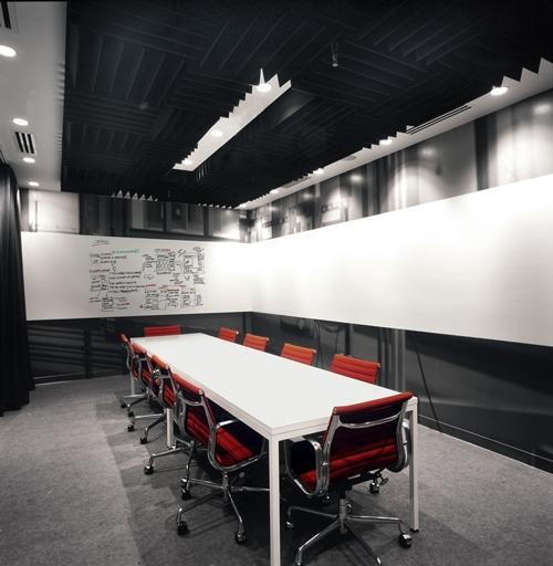 Новый дизайн офис Facebook. Зал для конференций