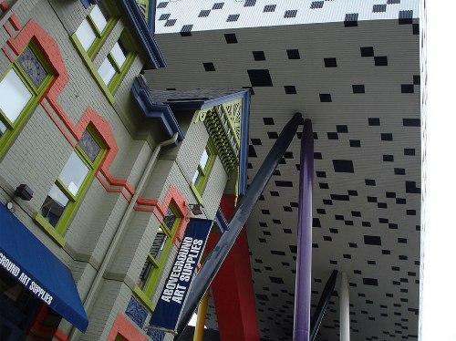 OCAD - университет искусства и дизайна в Канаде. Вид снизу