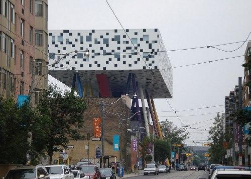 OCAD - университет искусства и дизайна в Канаде. Уникальный дизайн