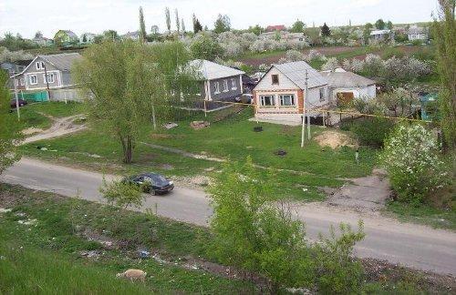Деревня с высока