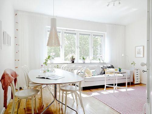 Очаровательная скандинавская квартира