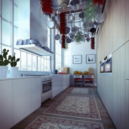 Промышленный лофт. Кухня