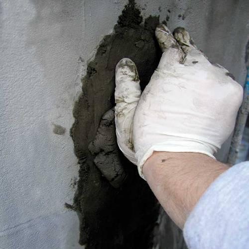 Заделка трещины в бетоне