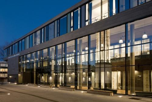 Школа F21 в Осло. Стеклянный фасад