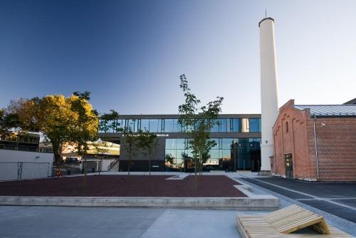 Школа F21 в Осло. Реконструкция старой фабрики