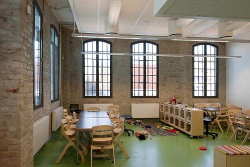Школа F21 в Осло. Детский класс
