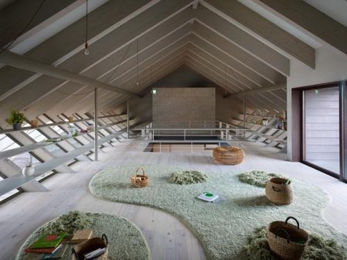 Шоурум Cocage от студии Suppose Design Office. Второй этаж