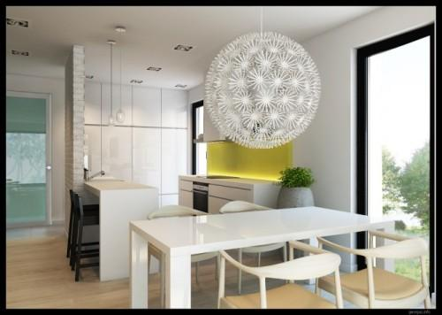 Стильный и современный интерьер кухни